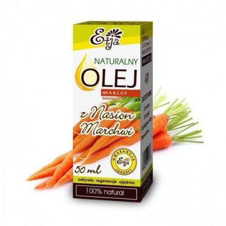 Naturalny olej z nasion marchwi (macerat), 50ml, Etja