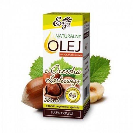 Naturalny olej z orzecha laskowego, 50ml, Etja