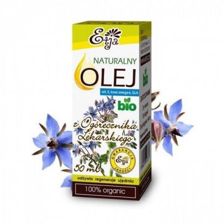 Naturalny olej z ogórecznika lekarskiego BIO, 50ml, Etja