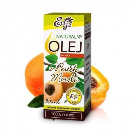 Naturalny olej z pestek moreli, 50ml, Etja