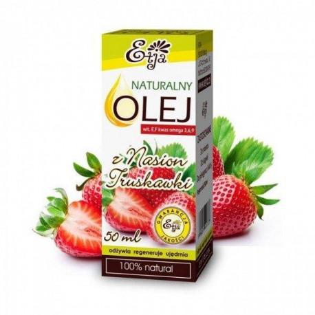 Naturalny olej z nasion truskawki, 50ml, Etja