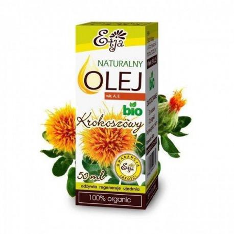 Naturalny olej z krokosza barwierskiego BIO, 50ml, Etja