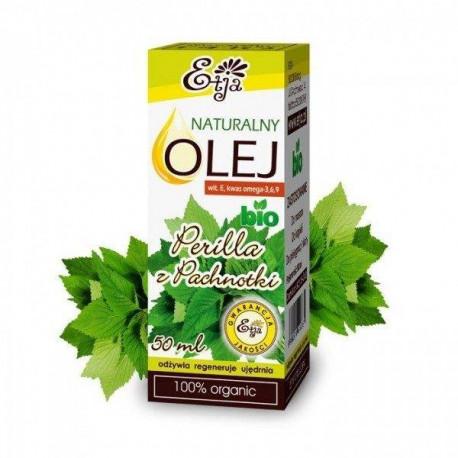 Naturalny olej perilla z pachnotki BIO, 50ml, Etja
