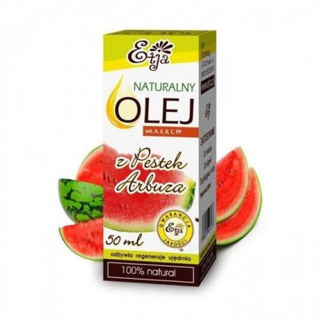 Naturalny olej z pestek arbuza, 50ml, Etja