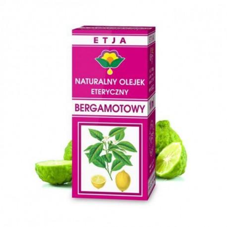 Naturalny olejek eteryczny bergamotowy, 10ml, Etja