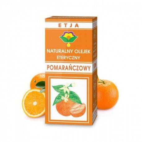 Naturalny olejek eteryczny pomarańczowy, 10ml, Etja