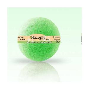 Musująca kula do kąpieli - Zielona herbata 130g, Nacomi