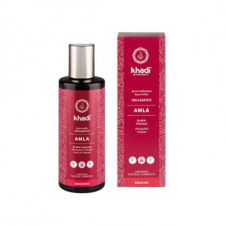 Wzmacniający szampon do włosów - Amla i ylang ylang, 210ml, Khadi