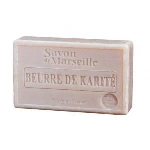 Mydło marsylskie z olejem ze słodkich migdałów - Karite (masło shea)