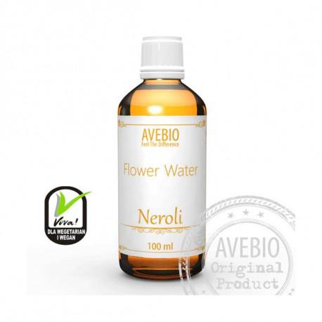 Hydrolat z kwiatów gorzkiej pomarańczy - Odświeża i tonizuje, 100ml, Avebio