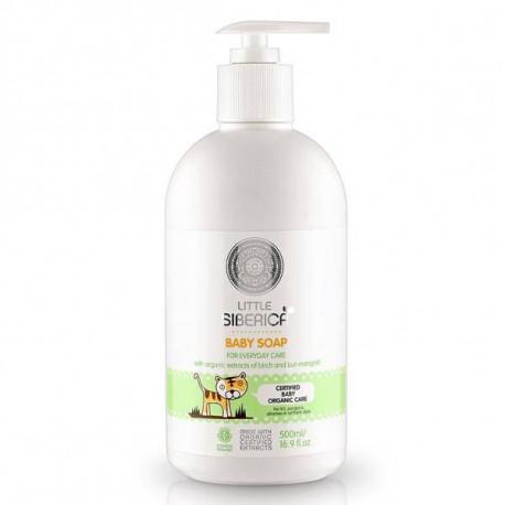 Mydło w płynie dla dzieci z ekstraktem z brzozy, 500ml, Natura Siberica