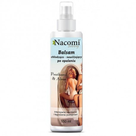Naturalny chłodzący balsam po opalaniu, 150ml, Nacomi