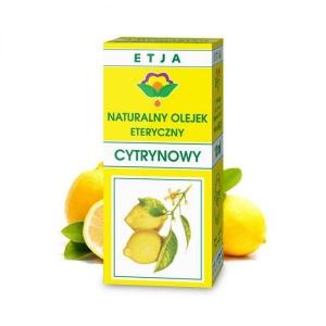 Etja, naturalny olejek eteryczny cytrynowy, 10 ml