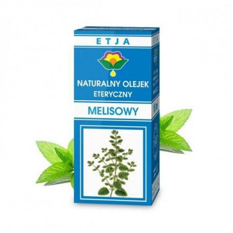 Naturalny olejek eteryczny melisowy, 10ml, Etja
