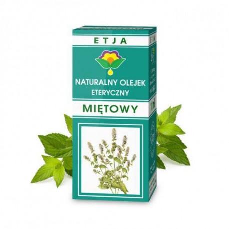 Naturalny olejek eteryczny miętowy, 10ml, Etja