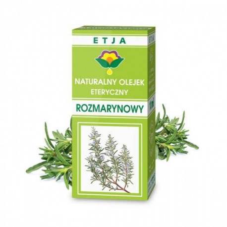 Naturalny olejek eteryczny rozmarynowy, 10ml, Etja