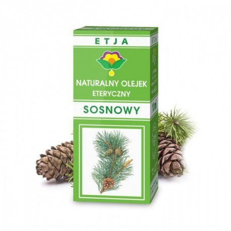 Naturalny olejek eteryczny sosnowy, 10ml, Etja
