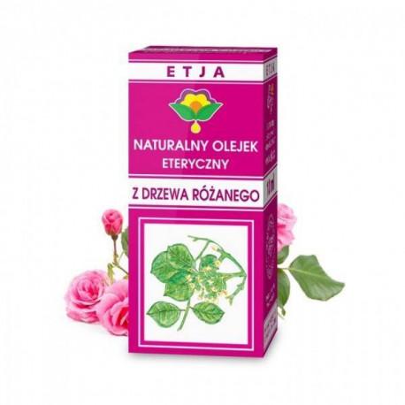 Naturalny olejek eteryczny z drzewa różanego, 10ml, Etja