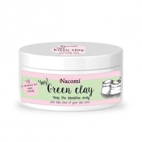 Naturalna glinka zielona oczyszczająca 65 g, Nacomi
