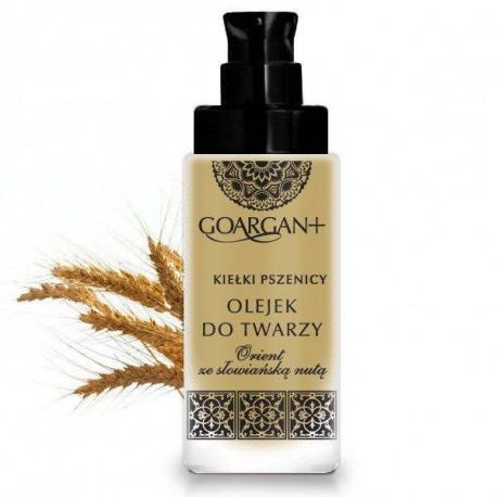 Łagodzący olejek do twarzy - olej arganowy i olej z kiełków pszenicy, 30ml, GoCranberry