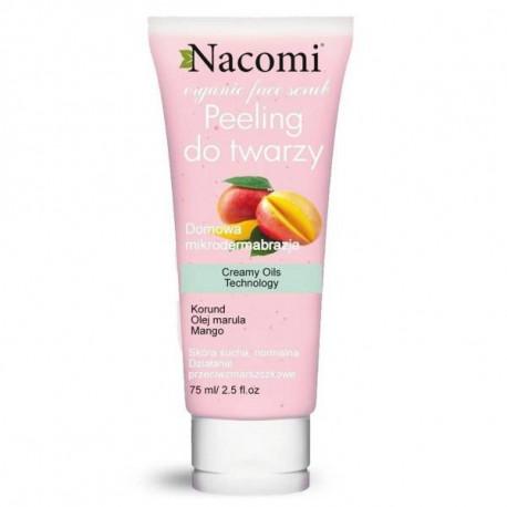 Przeciwzmarszczkowy peeling do twarzy z korundem, 85ml, Nacomi