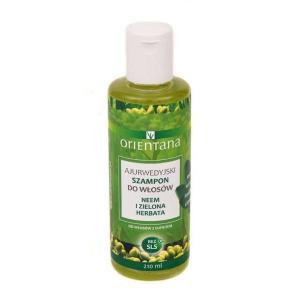 Ajurwedyjski szampon - Neem i zielona herbata