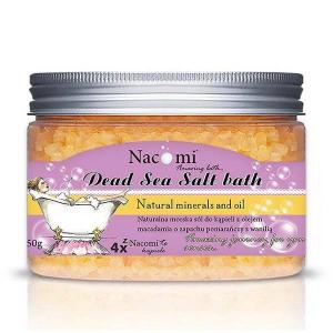 Sól z Morza Martwego pomarańcza-wanilia, 450g, Nacomi