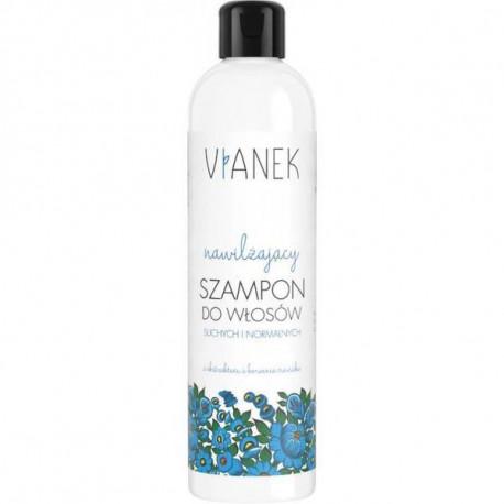 Nawilżający szampon do włosów, 300ml, Vianek