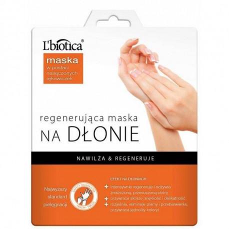 L'biotica Maska NA DŁONIE postaci nasączonych rękawiczek