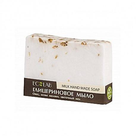 Naturalne mydło glicerynowe - Mleczne, 130ml, EoLab