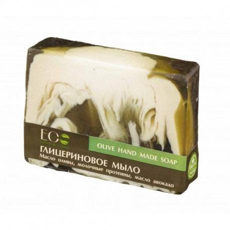 Naturalne mydło glicerynowe - Oliwkowe, 130ml, EoLab