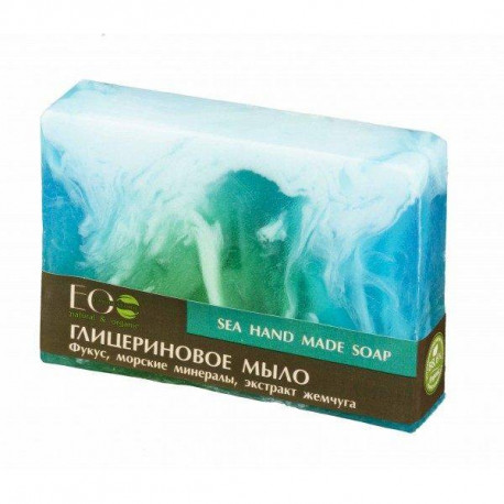 Naturalne mydło glicerynowe - Morskie, 130ml, EoLab