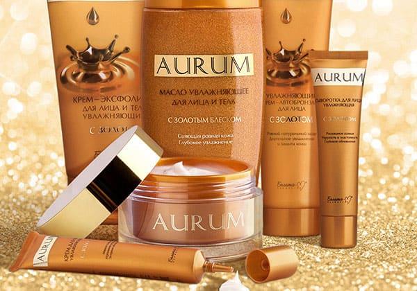 Aurum - kosmetyki ze złotem, olejem arganowym i masłem sha