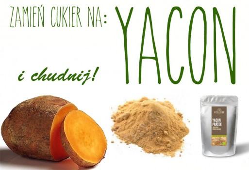 Yacon. Zamień cukier na andyjskie ziemniaki i chudnij!