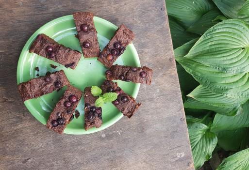 Bezglutenowe brownie amarantusowe