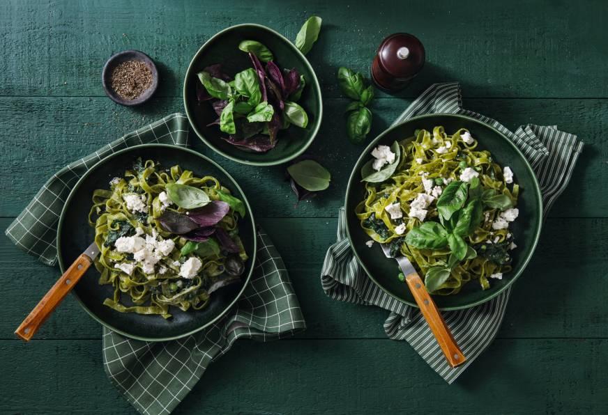 Organiczna żywność idealna dla wegan. Przegląd propozycji