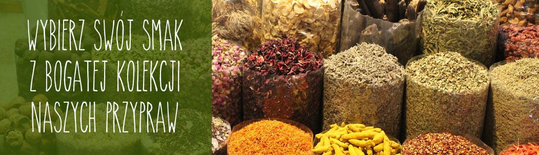 Dodaj smaku! Ekologiczne przyprawy w naszej kolekcji: kurkuma, garam masala, trawa cytrynowa, czosnek niedźwiedzi, kardamon, czarnuszka i wiele innych...