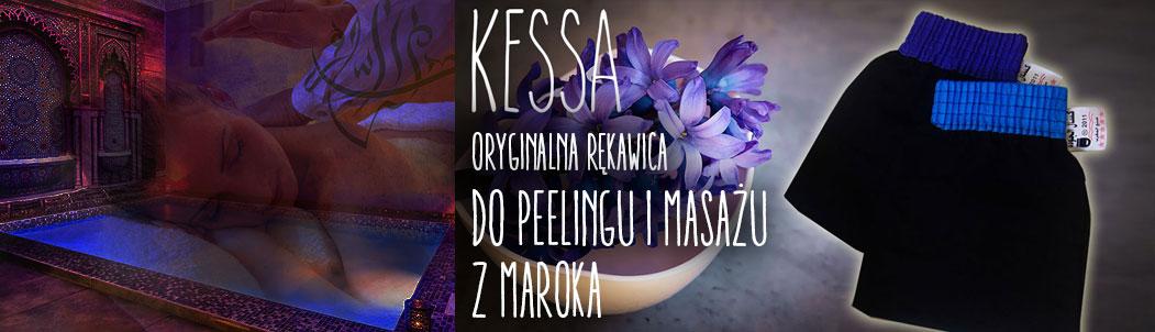 Kessa- oryginalna rękawica do masażu i peelingu z Maroka