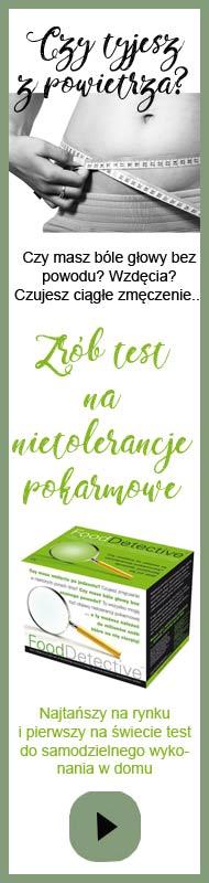 Test na nietolerancje pokarmowe do samodzielnego użytku