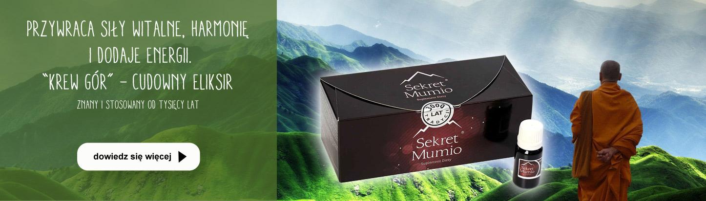 Sekret mumio - cudowny eliksir z gór